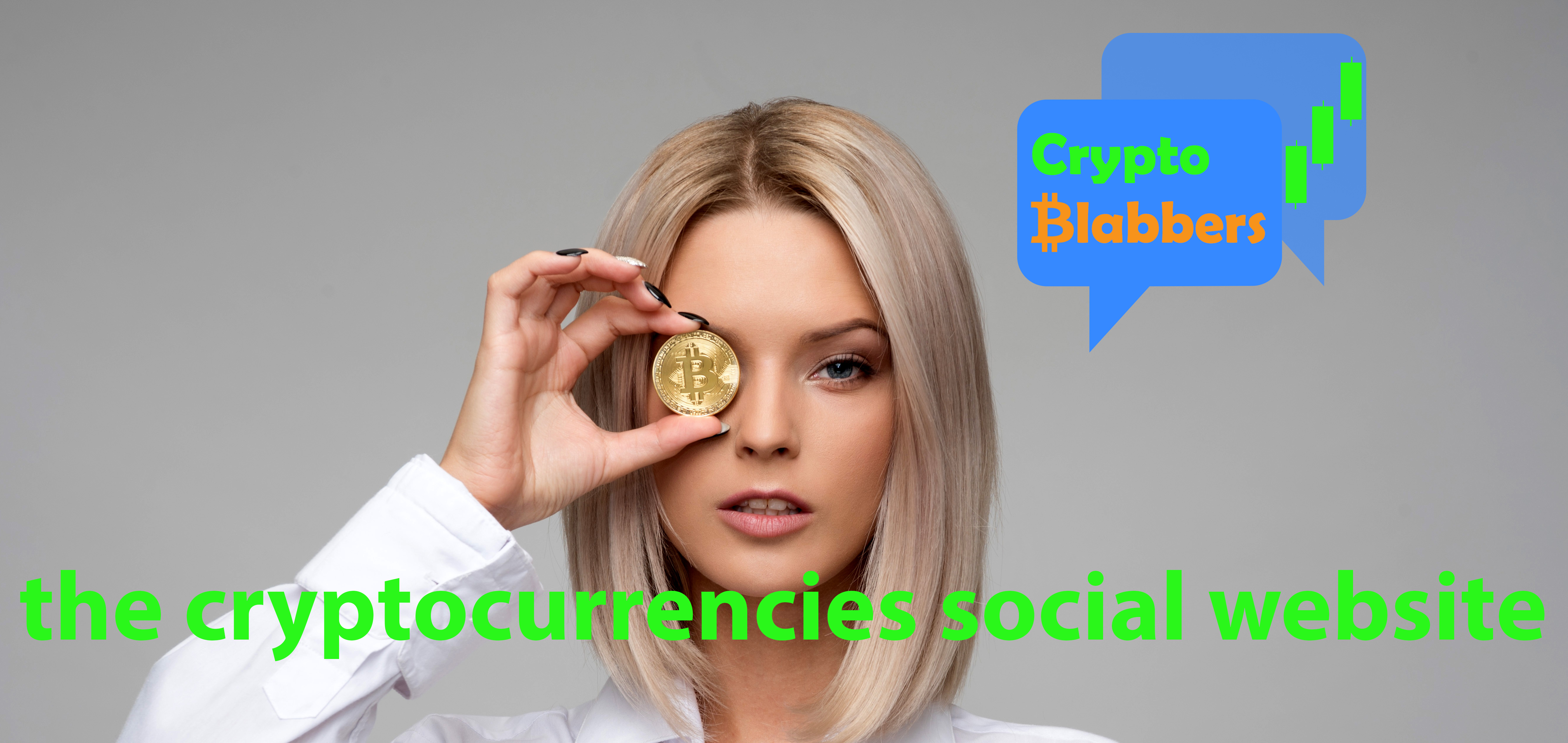 Crypto Blabbers - the cryptocurrencies social website